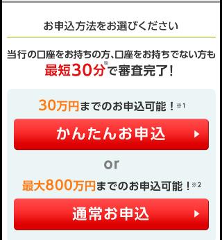三井住友銀行カードローンに申込むには