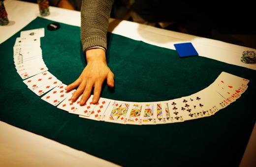 融資を受けられない場合の最終手段はギャンブル!