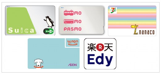 カード払いできるもの:電子マネー6選