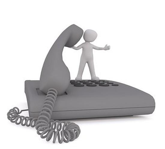 連絡先の電話番号